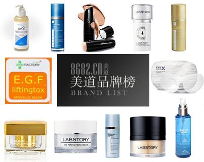 韩国美妆品牌潮流购