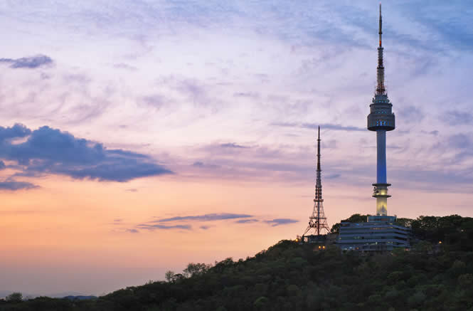 首尔南山塔